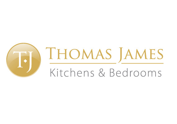 Logo and website for kitchen and bedroom fitters, including slide galleries<br/><a href='http://www.thomasjameskitchens.com' target='_blank'>Visit website</a>
