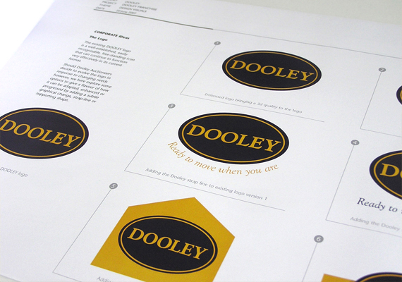 Dooley Auctioneers rebranding pitch document