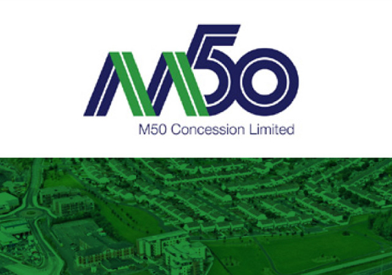 App screen design for M50 Concessions